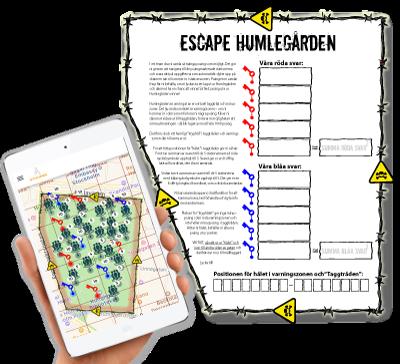ESCAPE GAMES - Du har kanske hört talas om Escape Rooms - vi har tagit det utomhus   .