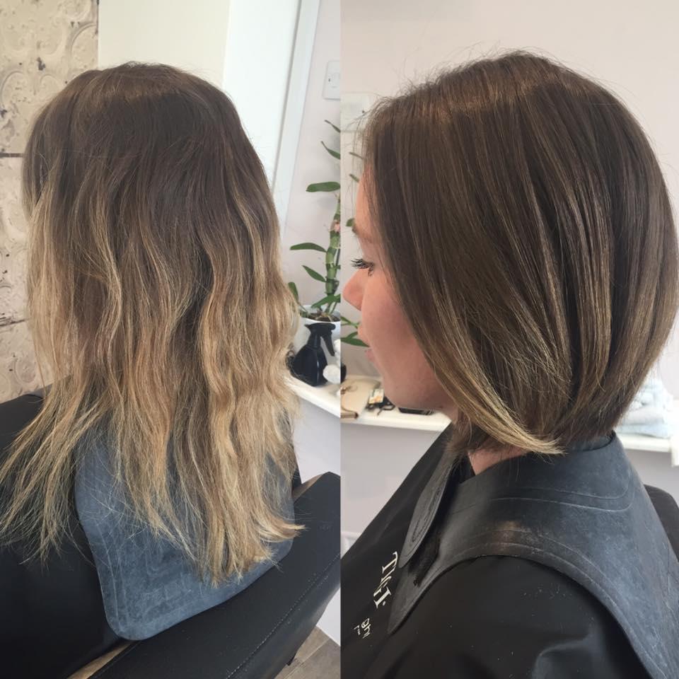 Short To Shoulder Hannah Woodgates Hair Design Bude North Cornwall