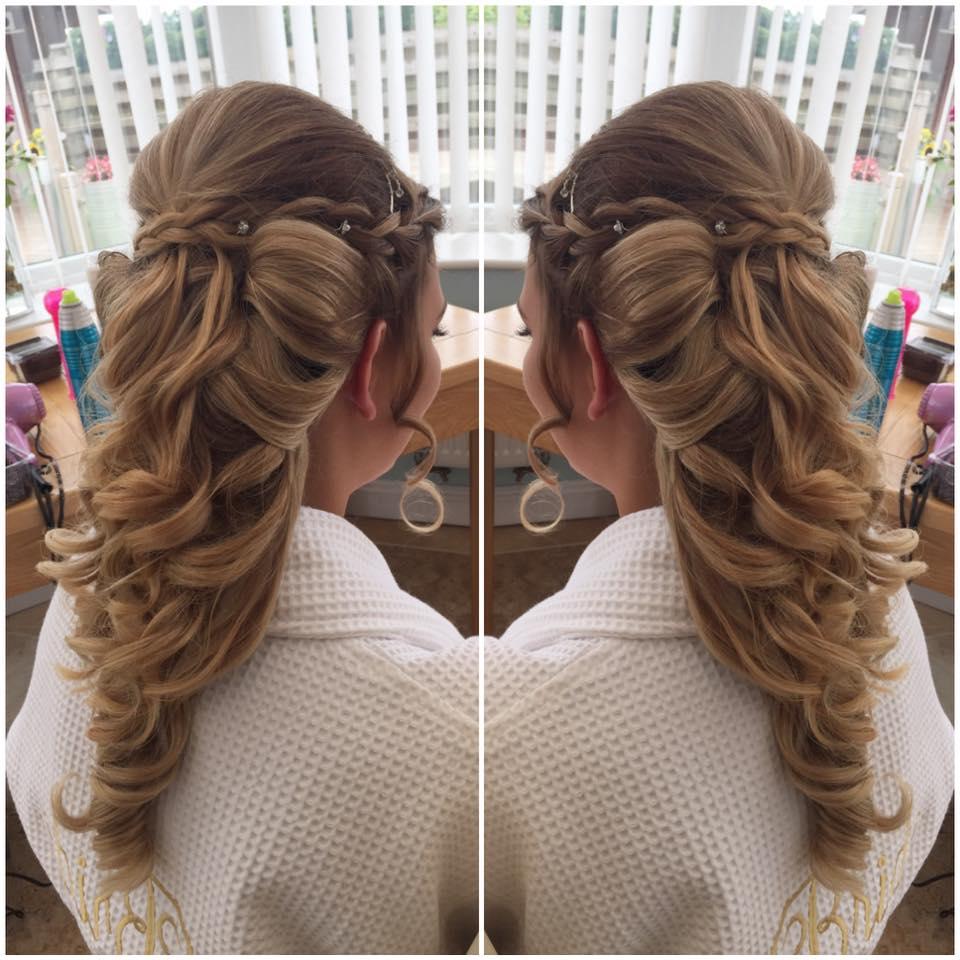 Bridal And Prom Hannah Woodgates Hair Design Bude North Cornwall