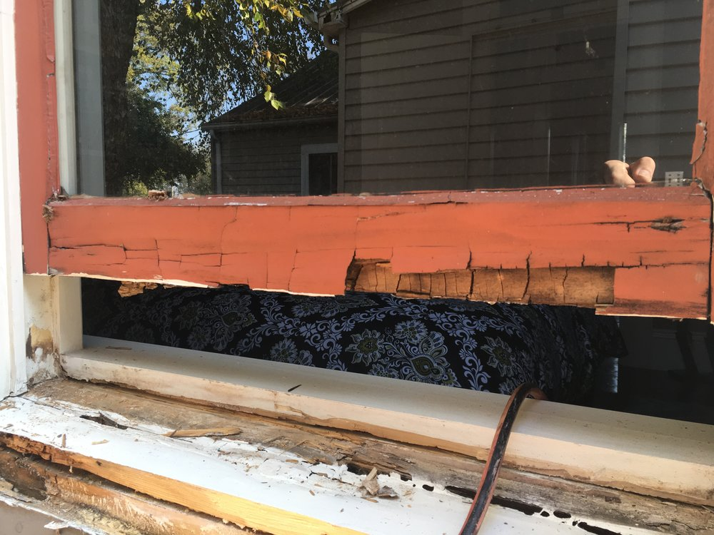 Wood window repair