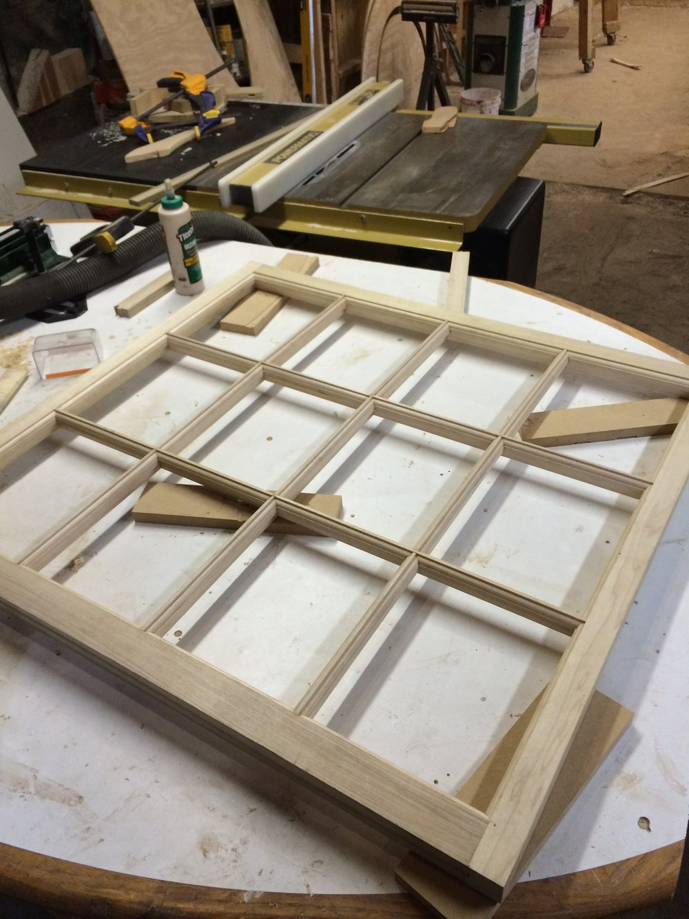 Wood window rebuild