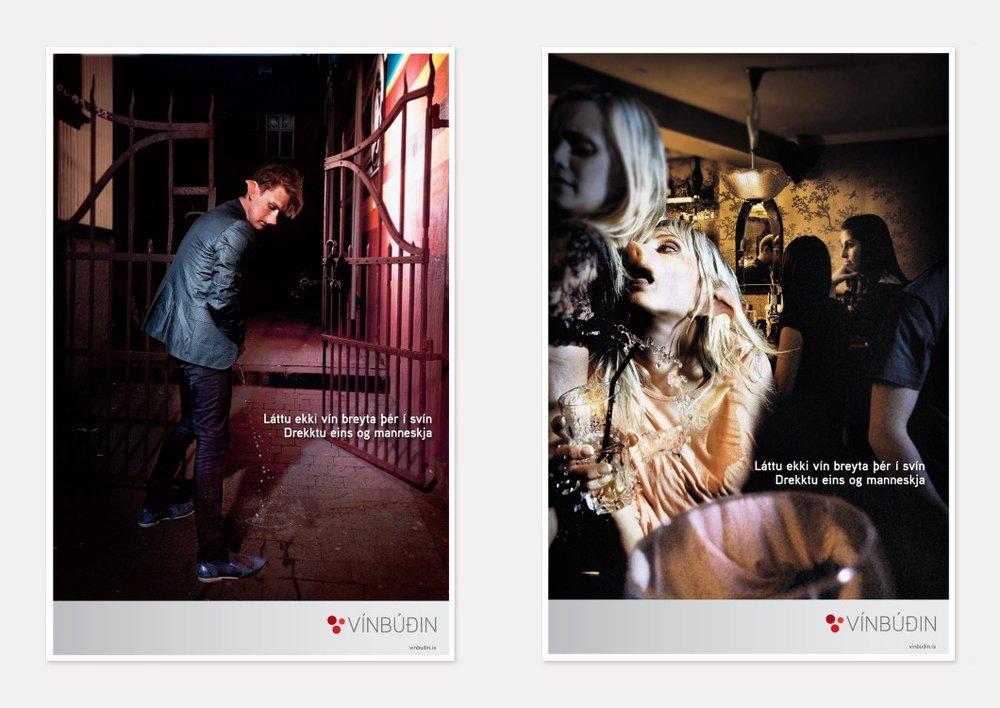 """Spfx gelatin make up for the commercial """" VINBUDIN """" Designed by Asta and Jim Udenberg, applied by Asta"""