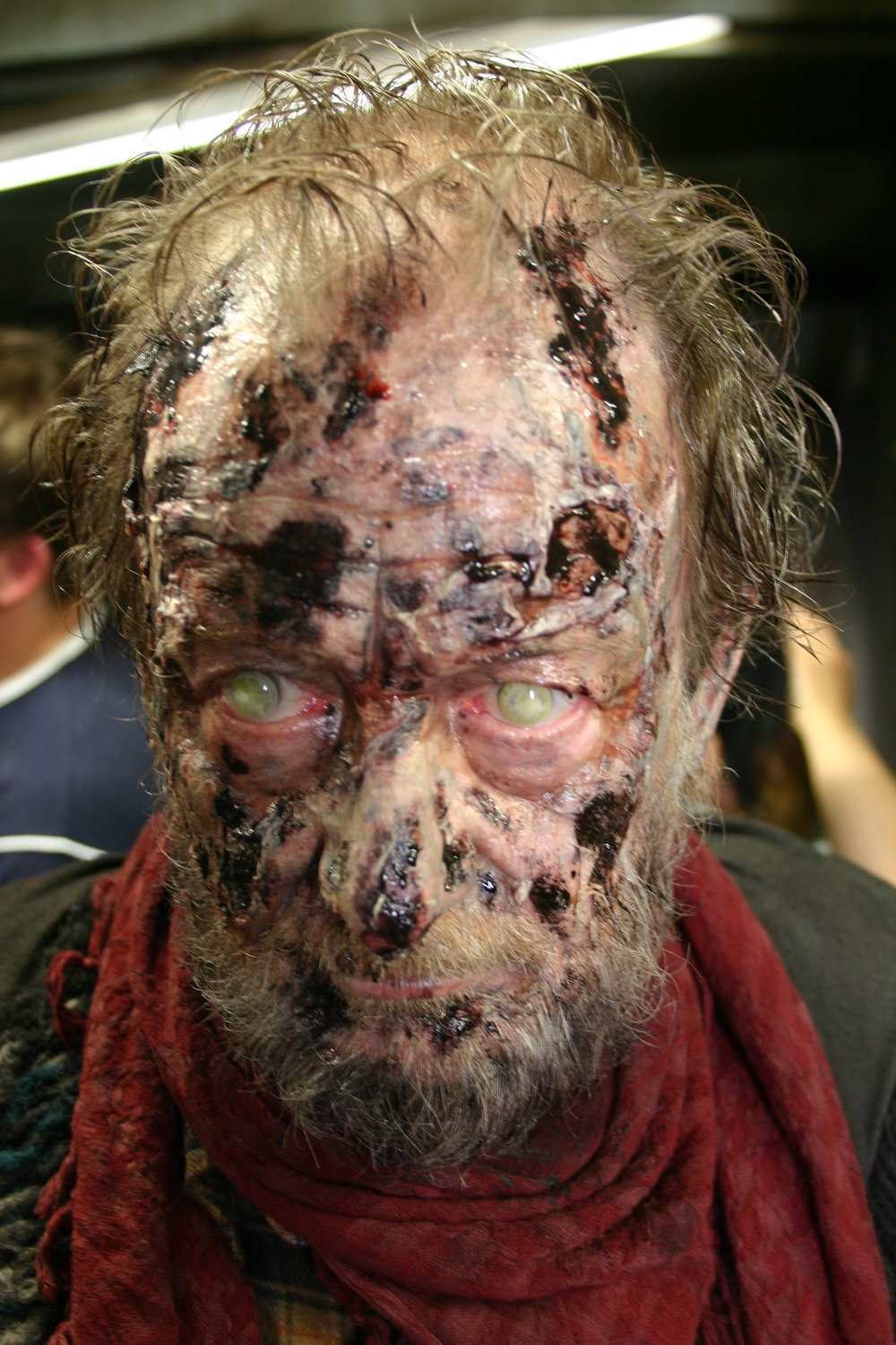"Spfx latex make up for the project "" DARK FLOORS """