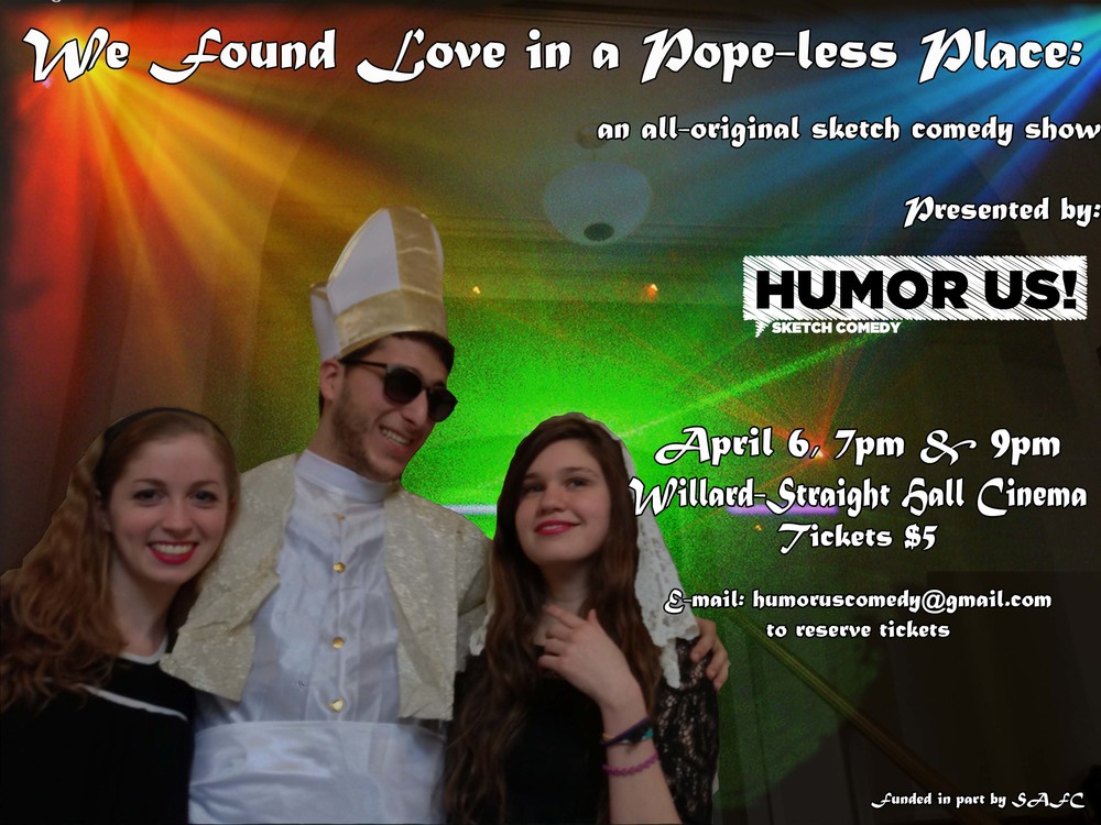 We have a confession: this show will leave you rolling on the floor, and we're not asking for forgiveness (Spring 2013).