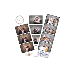 Custom photo strips designed for your event