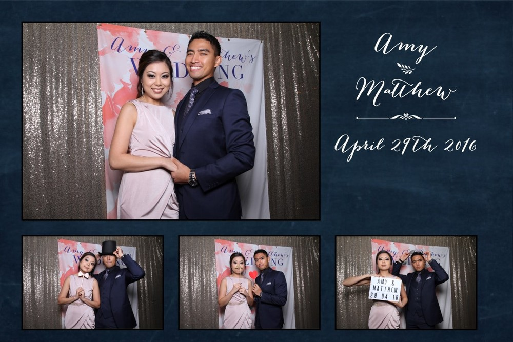 "4 x 6"" photo strip wedding photo booth design"