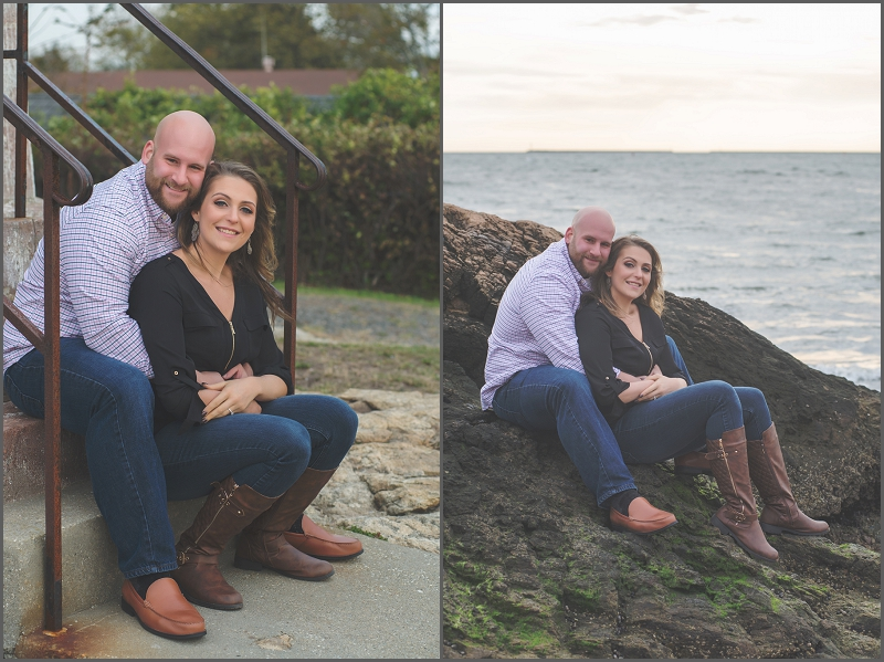 Lighthouse Point Park Engagement