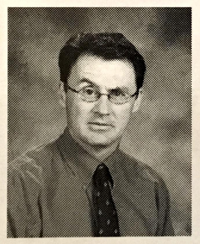 Mr. Wood,2003 Yearbook