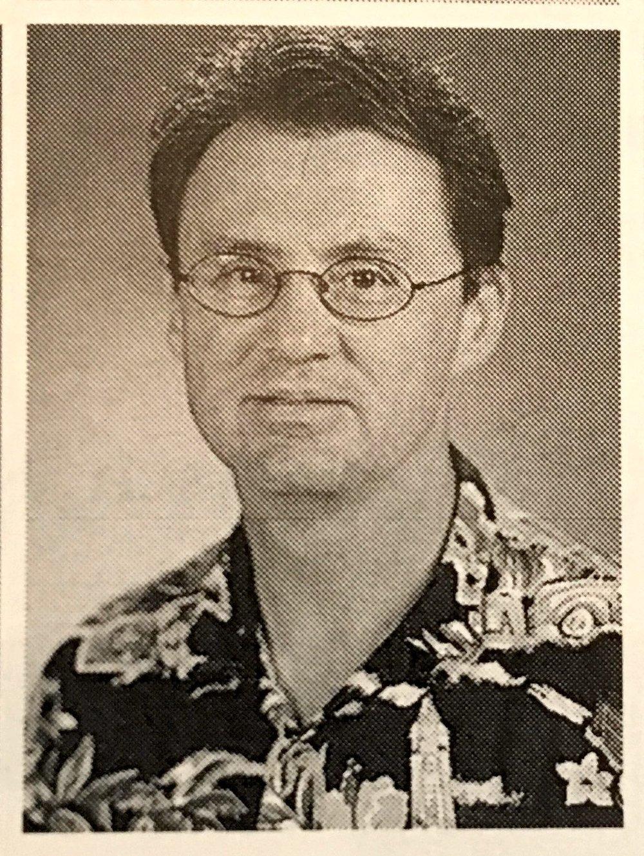 Mr. Wood, 2002 Yearbook