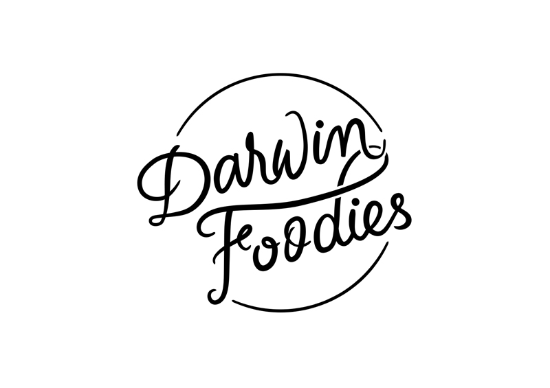Darwin Foodies logo design