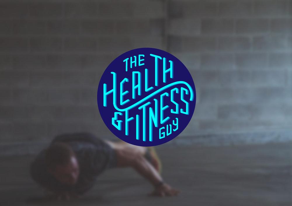 The Health & Fitness Guy Branding