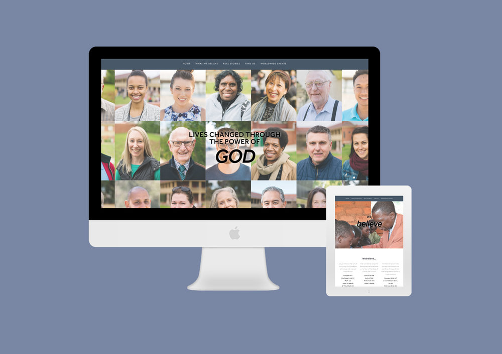 Revival Fellowship Church website design and development