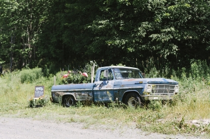 """One of the unique features of the property the """"Flowerbed Ford"""""""