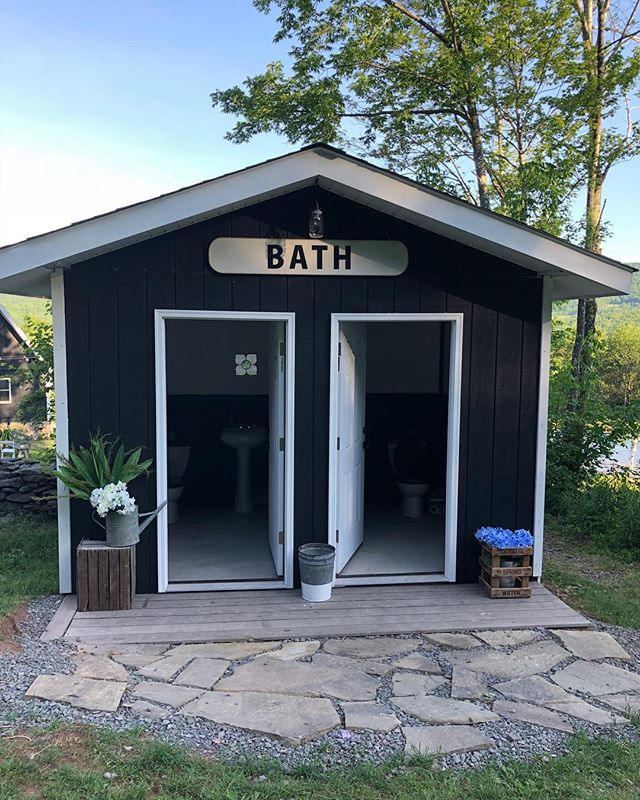 Come to #TCMH, where even our bathrooms are cute! . . . #weddingvenue #weddingvenuenyc #weddingsummer2018 #summer2018wedding #weddingplanning #weddingphotography #weddingdecor #weddinginspo #weddingideas #farmhousewedding #TCMH #eventplanning #barnwedding #airstream #airstreamdreams #airstreamdream