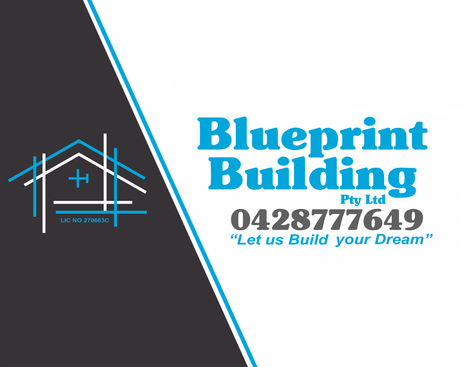 Blueprint building central coast builder banner stretchedg malvernweather Image collections