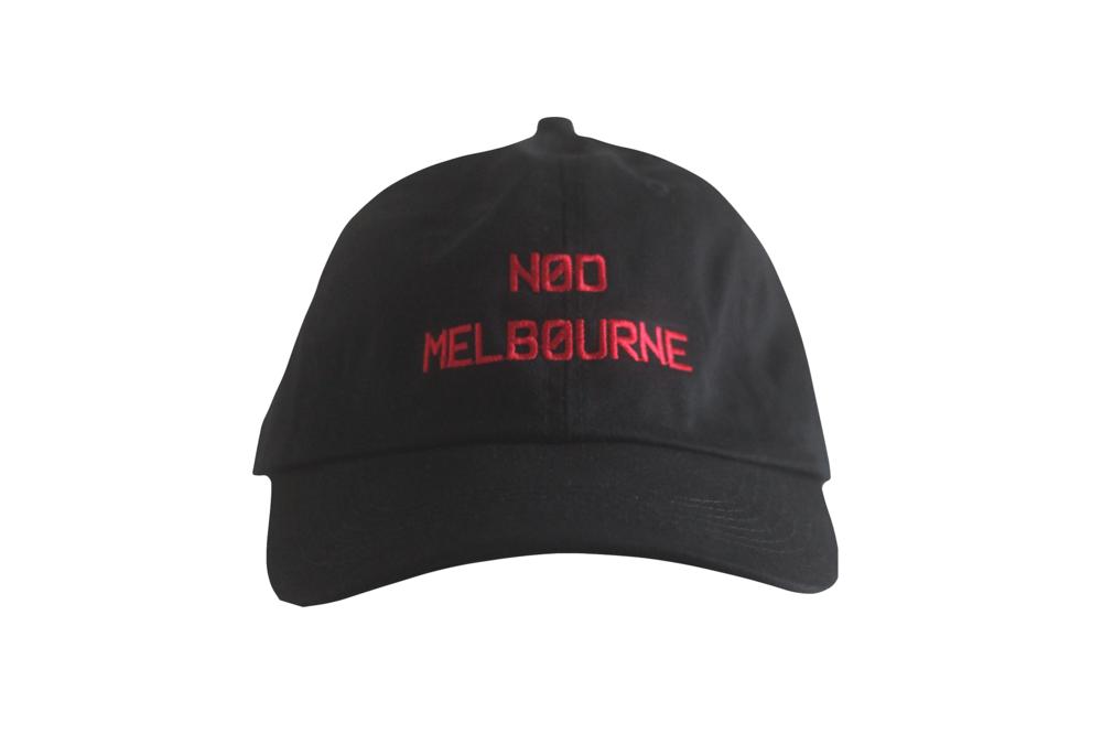 Black Melbourne Cap.png