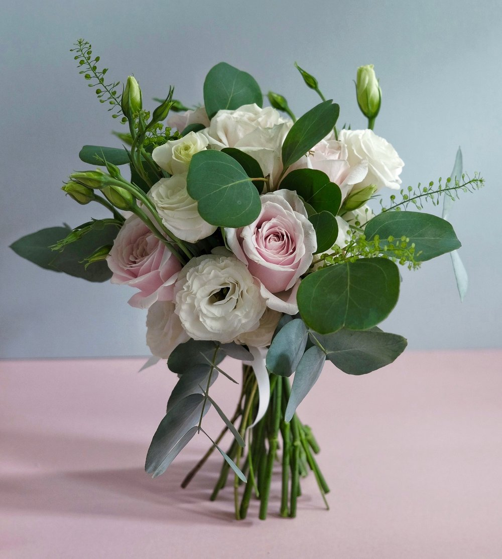 Bridal pastel ask a french flowers