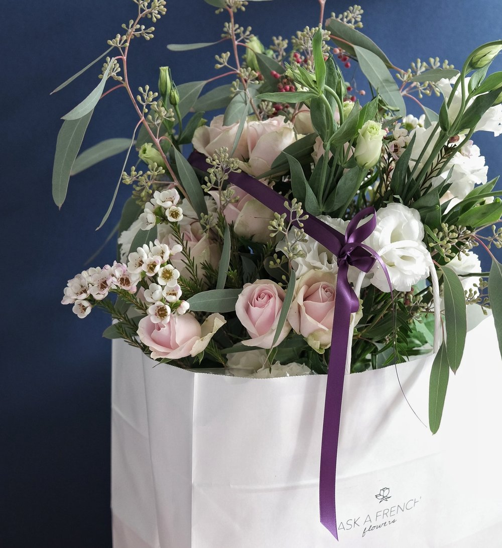 Surprise bouquet Ask a French Flowers online florist delivery Singapore
