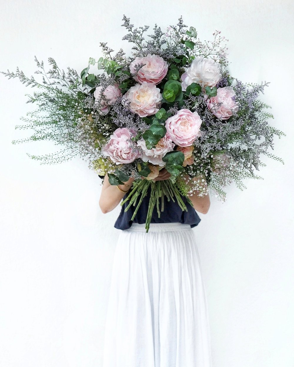 Ask a French Flowers supersize bouquet peonies online florist delivery singapore