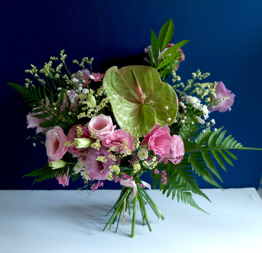 Ask a French Flowers romantic tropical bucolic