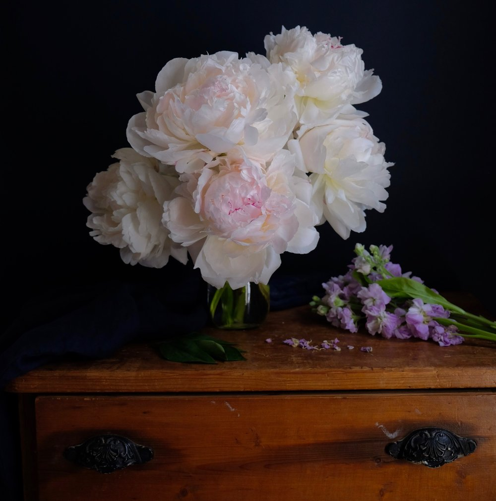 Ask a French flowers peonies
