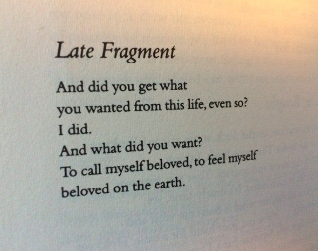 A Friday reminder of the importance of love and connection in all of this thinking and doing and chaos. Late Fragment by Raymond Carver. . . #questionsonpurpose #100quotesonpurpose #meaningoflife #raymondcarver #poetry #poetsofinstagram #100dayproject