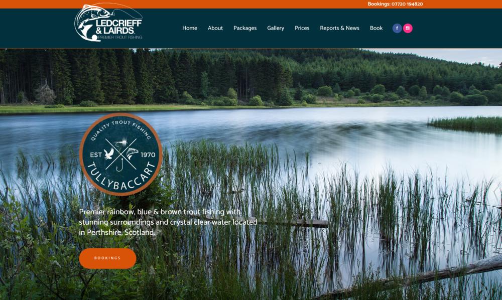 Ledcrieff & Lairds Lochs | Premier Trout Fishing