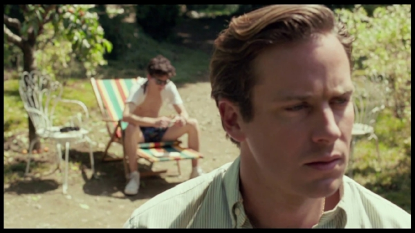1.   Call Me By Your Name    This was another one I saw twice in the theater. It just barely stole the number one slot from   Lady Bird  , but it wins purely based on the fact that I can't stop thinking about it. I can't stop thinking about Elio (Timothée Chalamet) and how hard he falls for Oliver (Armie Hammer) and how easily they melt into each other once they confront how they feel. I can't stop picturing him, uncertain and nervous, taking that first step forward that changes everything. That step that marks the beginning of a summer romance that he will carry with him forever.   Call My By Your Name   truly     belongs alongside the greatest love stories of the ages.