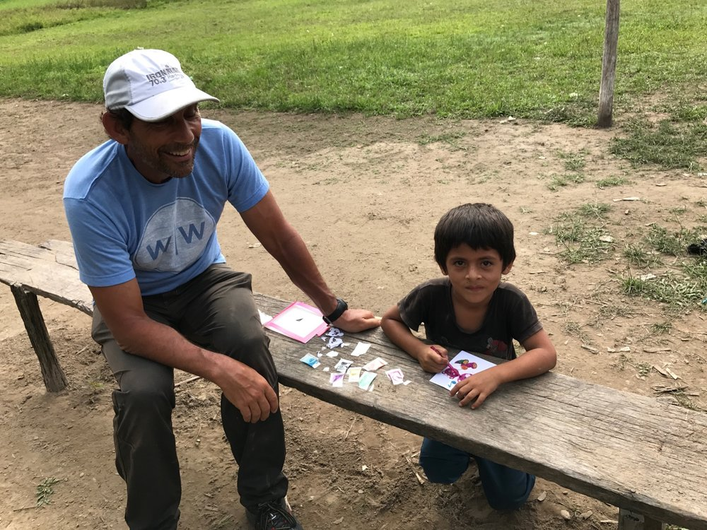 Mr. Ny works serving communities across Cambodia constructing latrines and drilling wells for those in need.