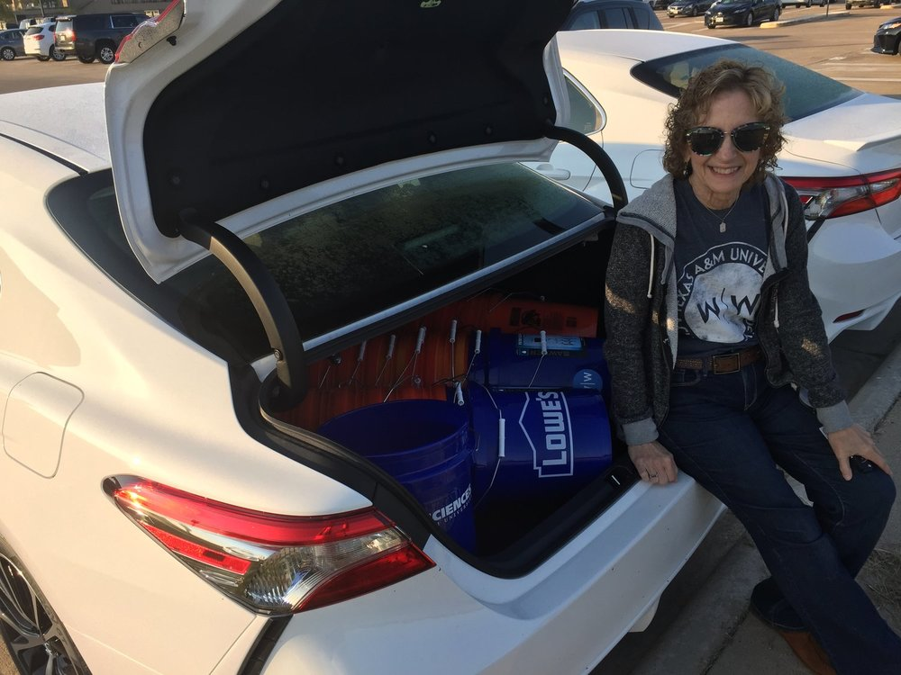 Judy Nunez shares her experiences distributing filters with Wine To Water along the gulf coast of Texas immediately following Hurricane Harvey