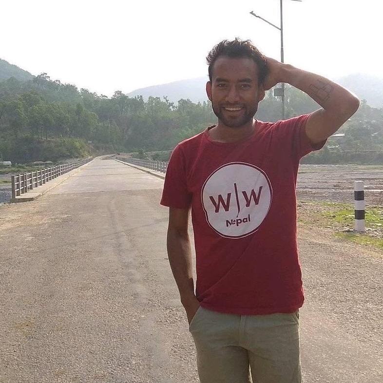 Abishek Basnet   Field Coordinator