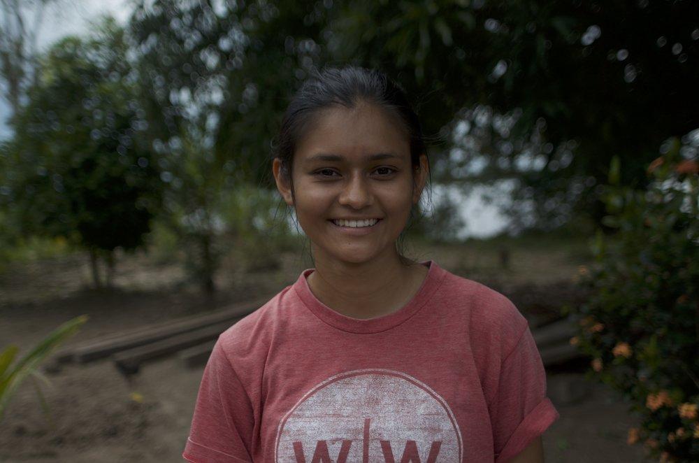 Amazon Field Coordinator Anna Maria