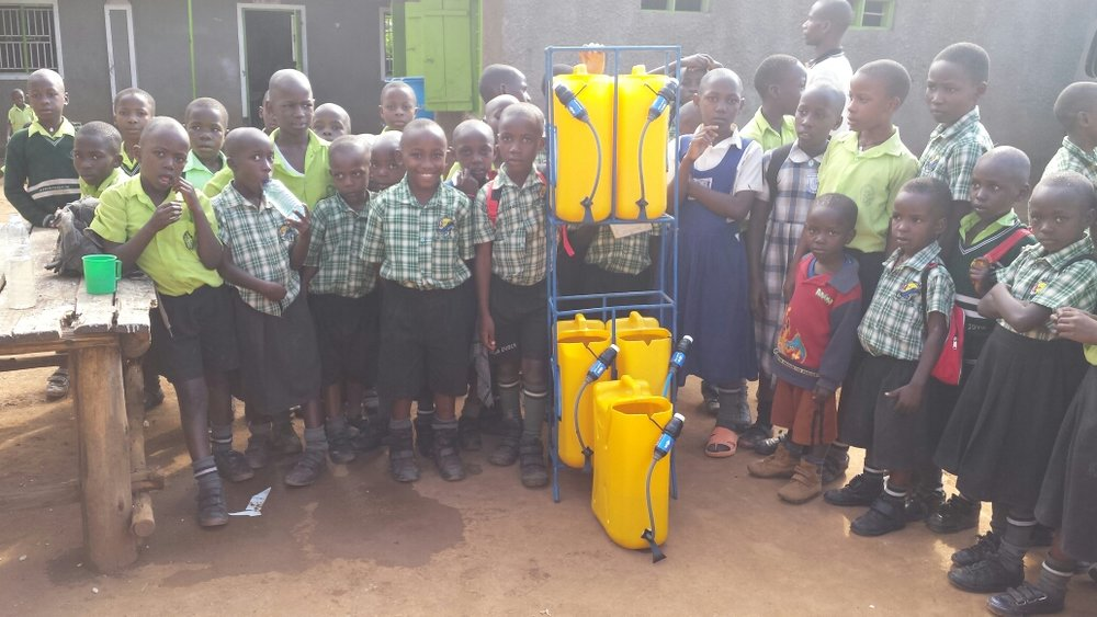 Step Up Primary School Students; Image Courtesy of Ugandan Water Project.