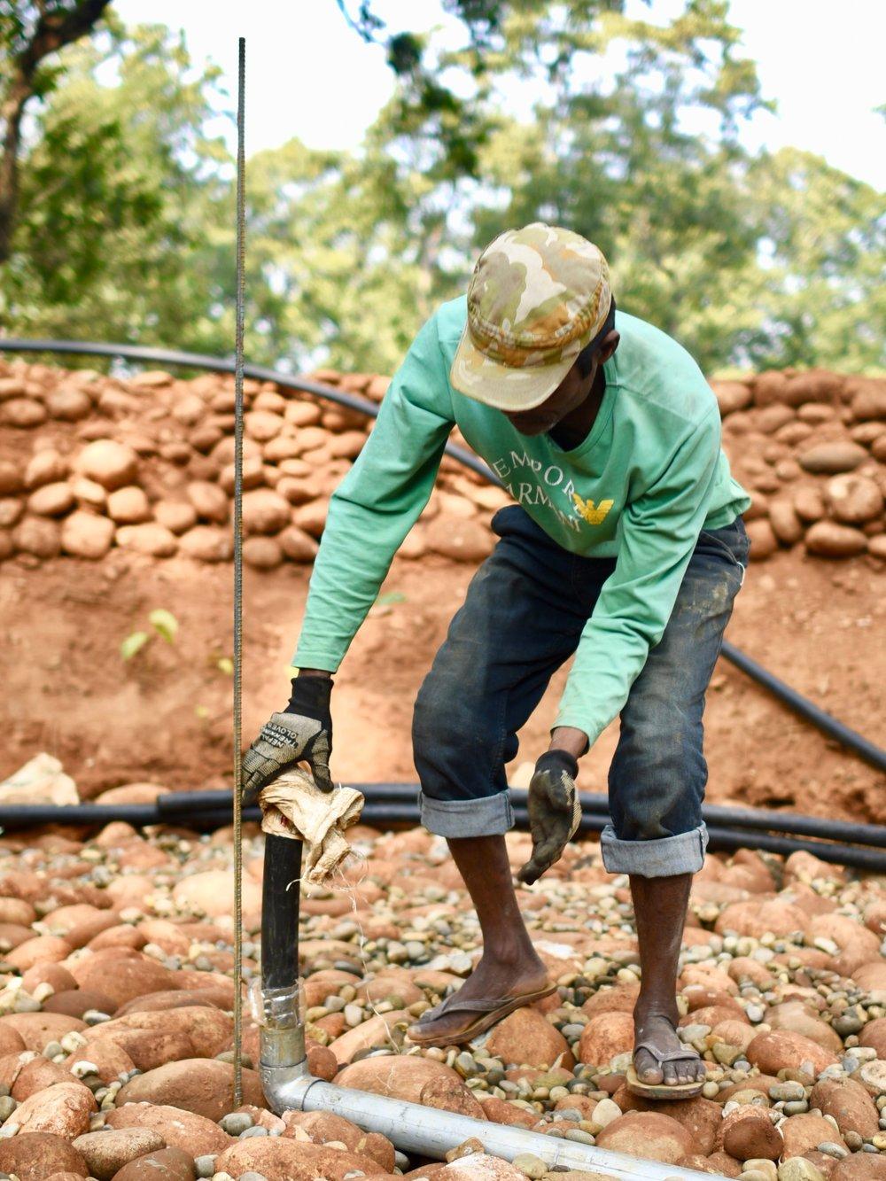 Village Maintenance Worker— Mr. Baburam Gharti