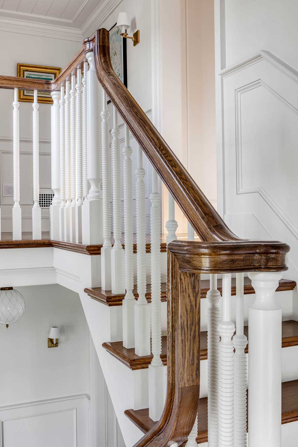 hall, hallway, stairs, stairway, digs, digs design