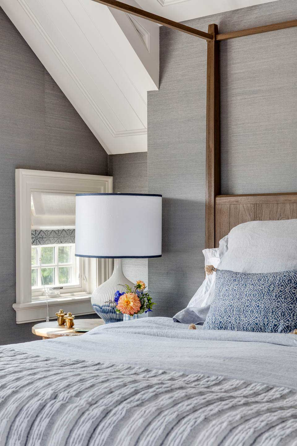 cape cod, cape house, four poster bed, wallpaper, texture