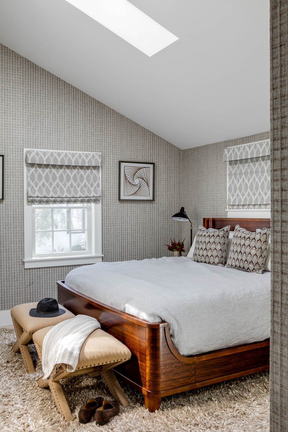 Newport Rhode Island, Rhode Island interior design, New England interior designer, bedroom