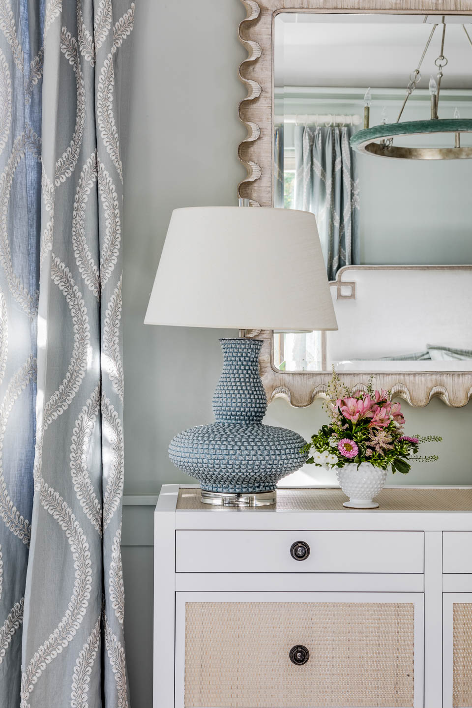 lamp, bureau, bedroom decor, interior design