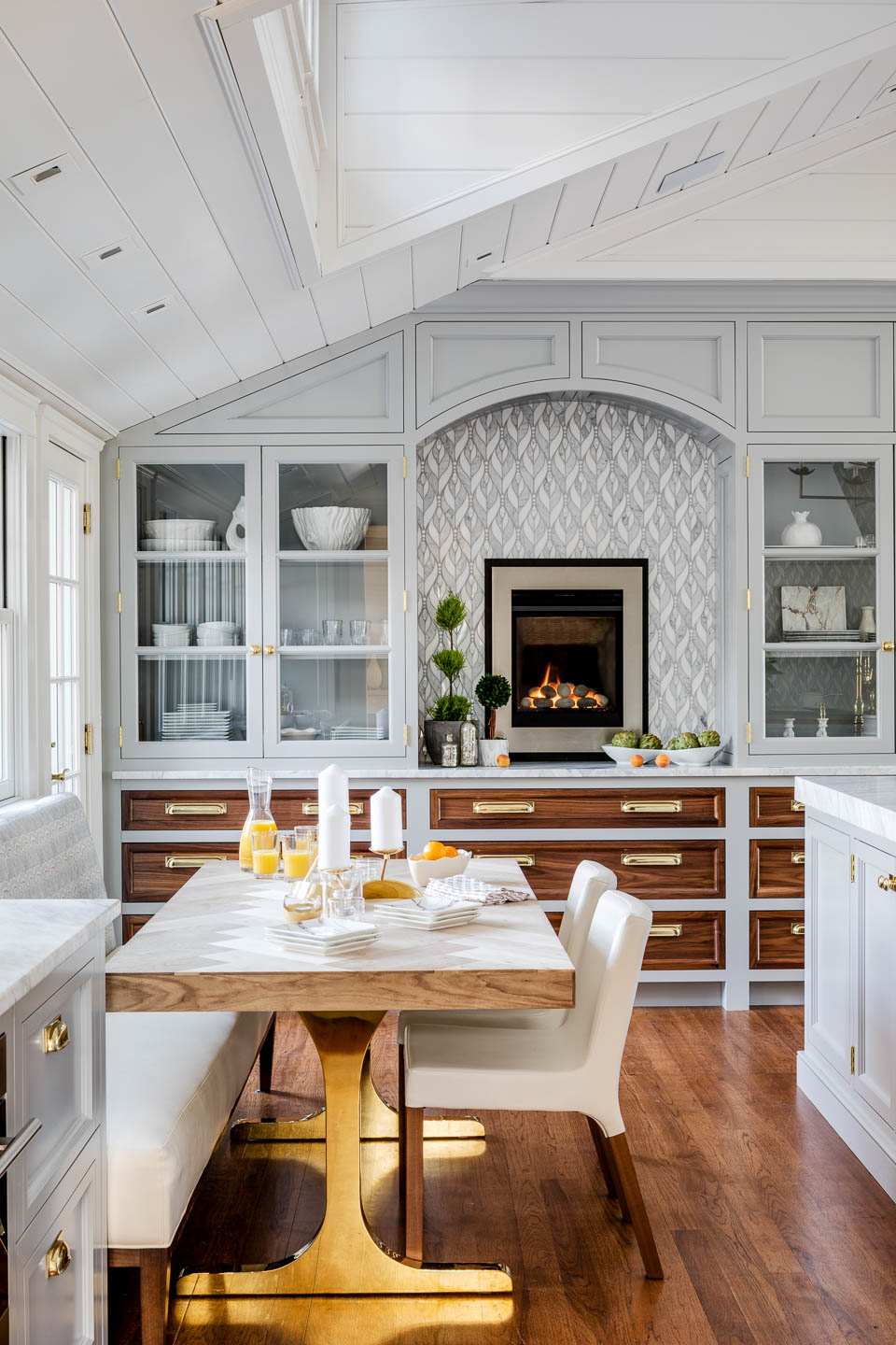 Digs, Digs Design, Matunuck, Matunuck Beach, Beach Design, Rhode Island Interior Design, Interior Design, Renovation, Beach Design, Beach Kitchen, Kitchen, Kitchen Design, Coastal Living, Butcher Block Counter, Tile Backsplash