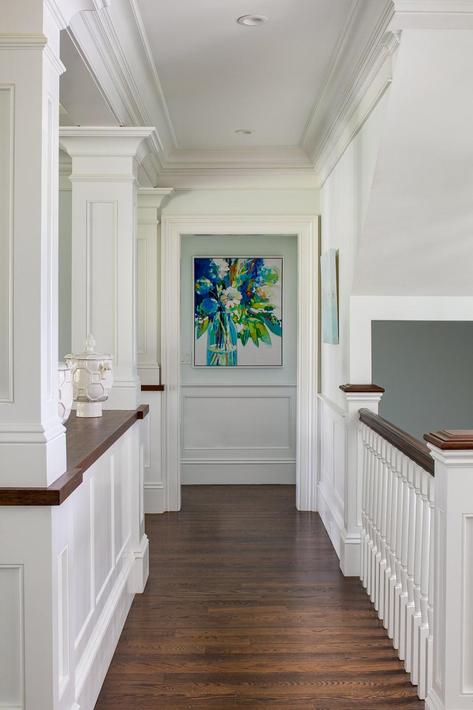 Dinardo Bailey Summer house, summerhouse, summerhouse design, hallway, hallway art,beach house, east coast, beach design