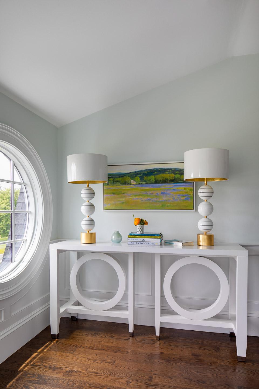 Dinardo Bailey Summer house, summerhouse, summerhouse design, console, hallway console table,beach house, east coast, beach design