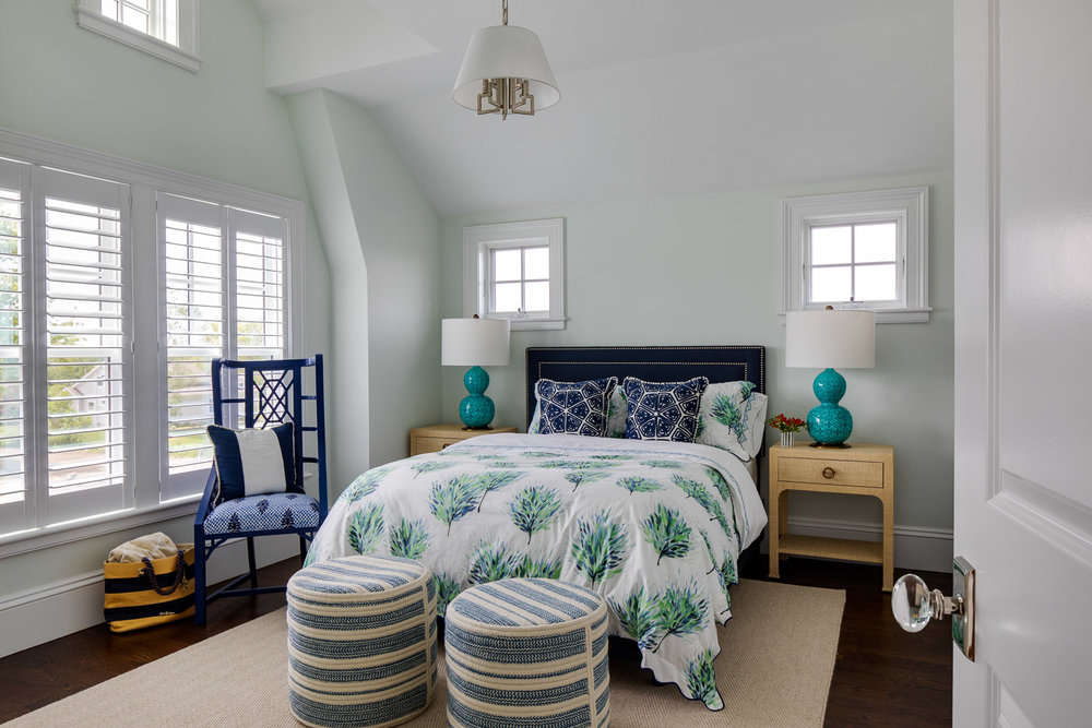 Dinardo Bailey Summer house, summerhouse, summerhouse design, beach house, east coast, beach design, master bedroom, bedroom design ideas,beach house bedroom
