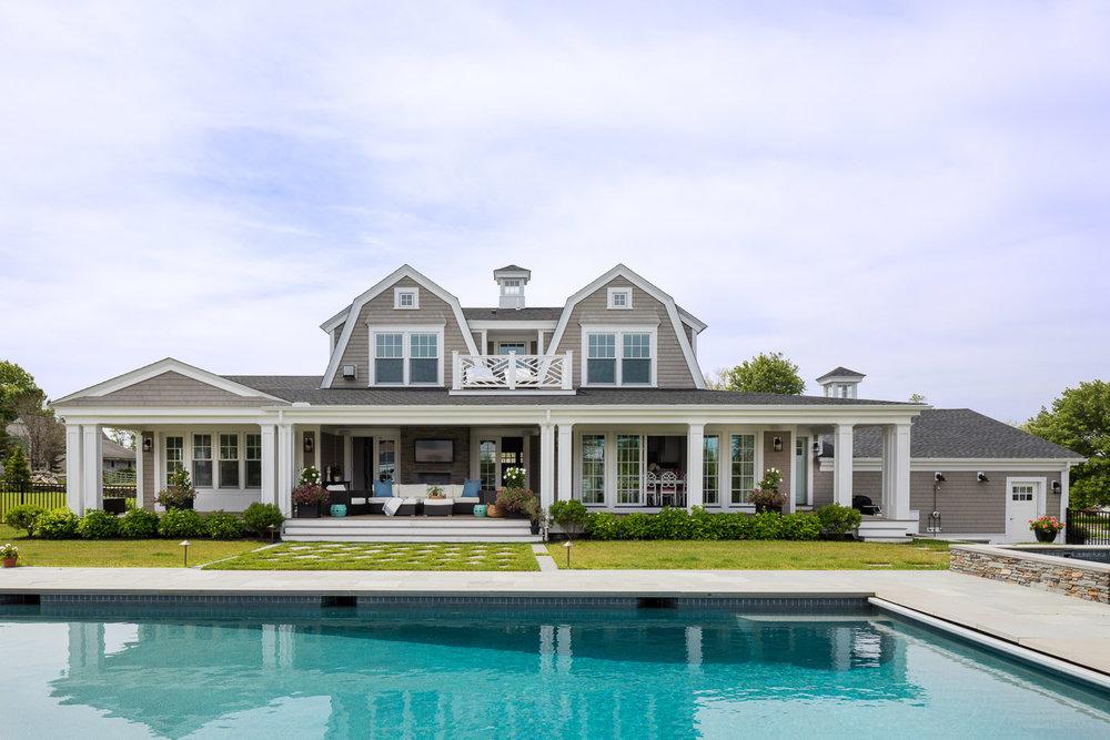 Dinardo Bailey Summer house, summerhouse, summerhouse design, beach house, east coast, beach design, pool, patio design ideas, backyard