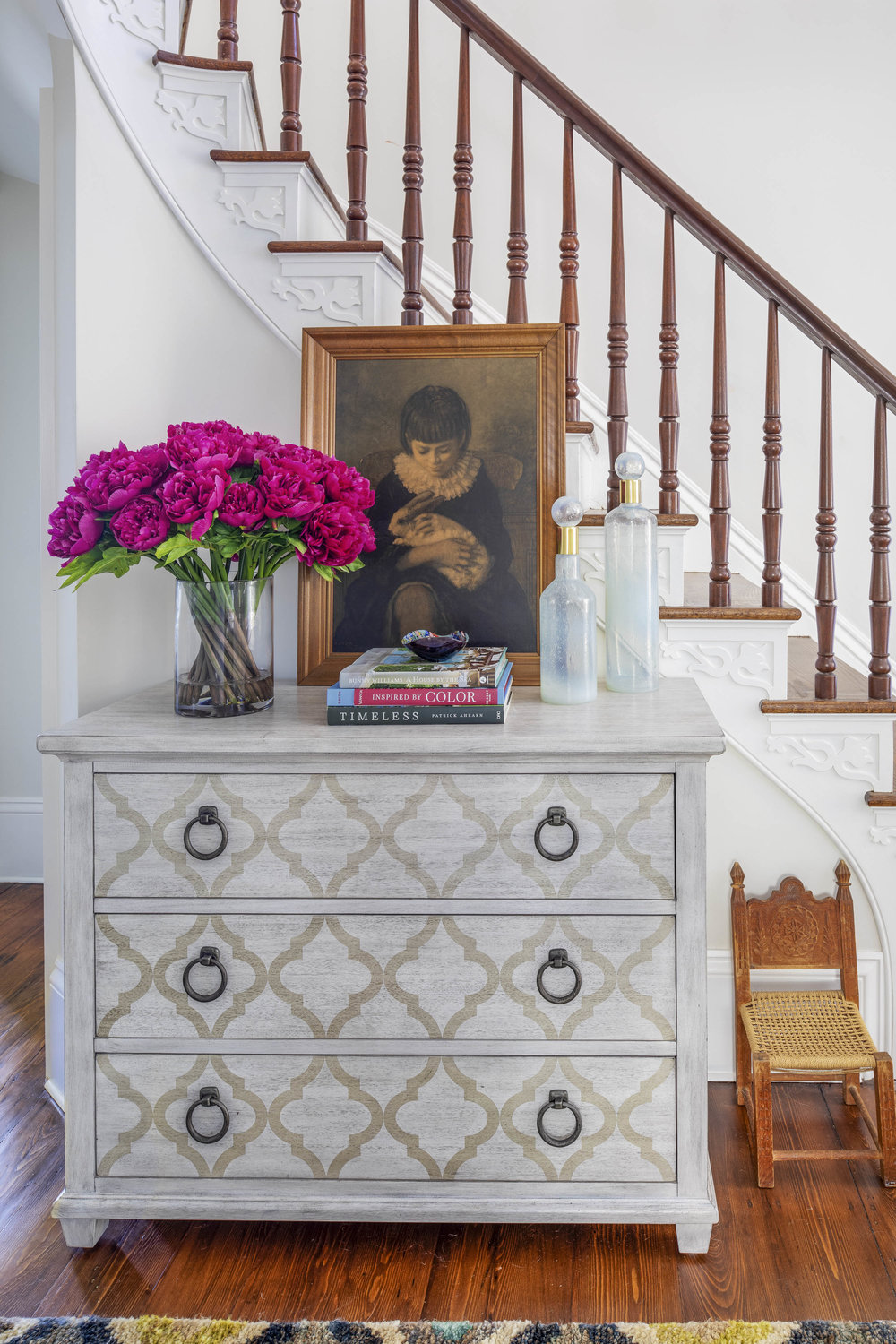 Digs Design, Digs, Digs Design Company, Interior Design, Jocelyn Chiappone, Rhode Island, Newport, Providence, Benefit Street, Hall, Staircase, Entryway