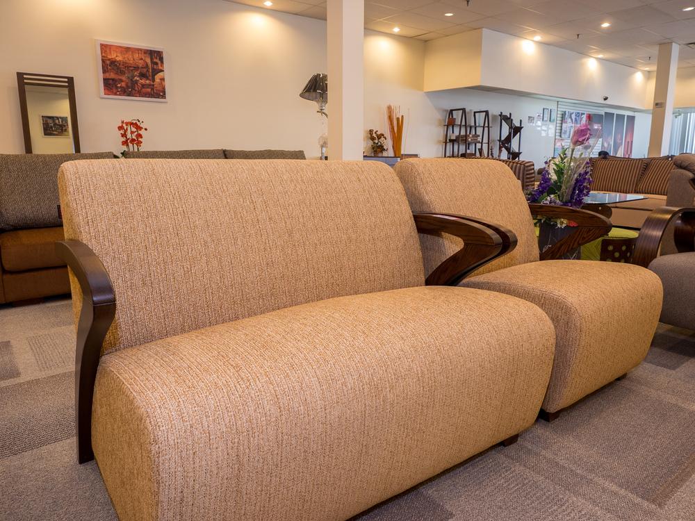 Model: 238-2-1-77. Compact sofa. 2+2+1 setup