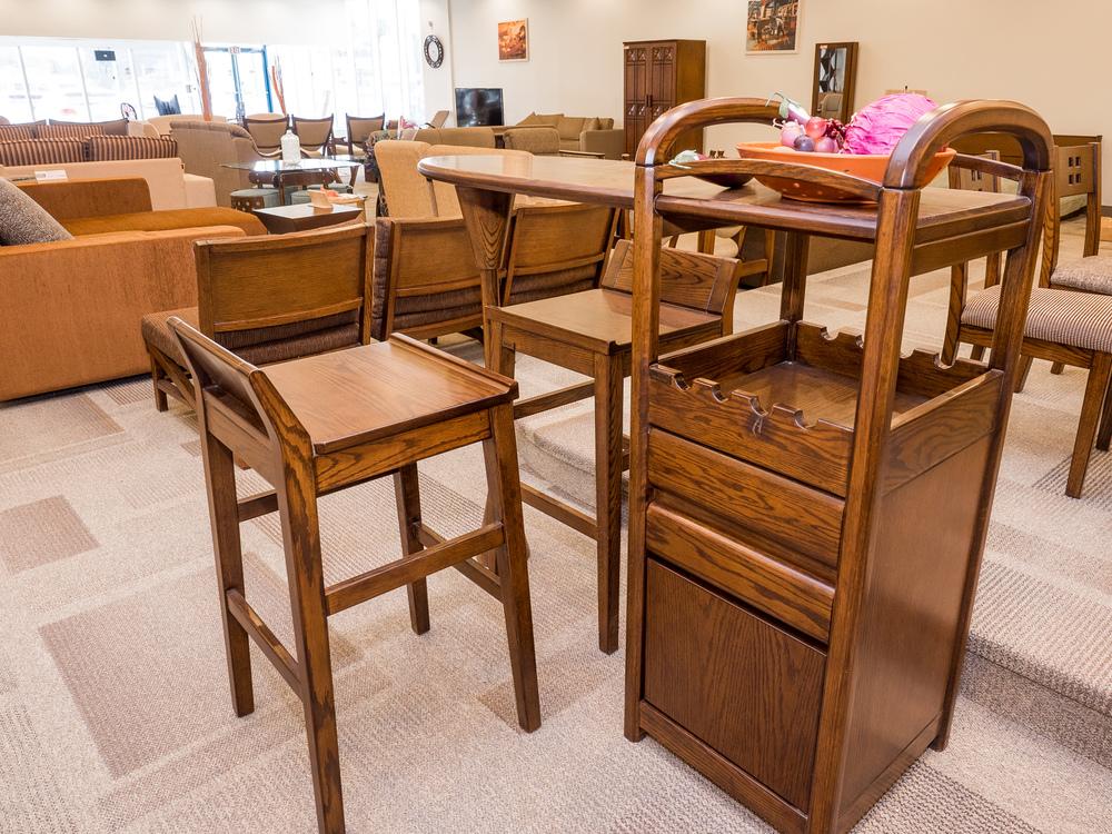 Model: 101-2-1-77 Home bar counter
