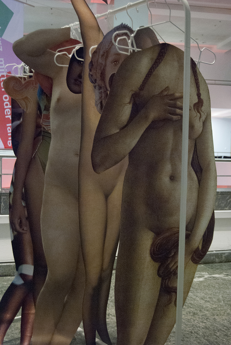 face & body masks installation, Gemäldegalerie Berlin, 2016