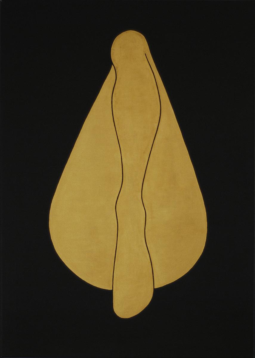 golden girls #1 acrylic on canvas,70 cm x 50 cm, 2015