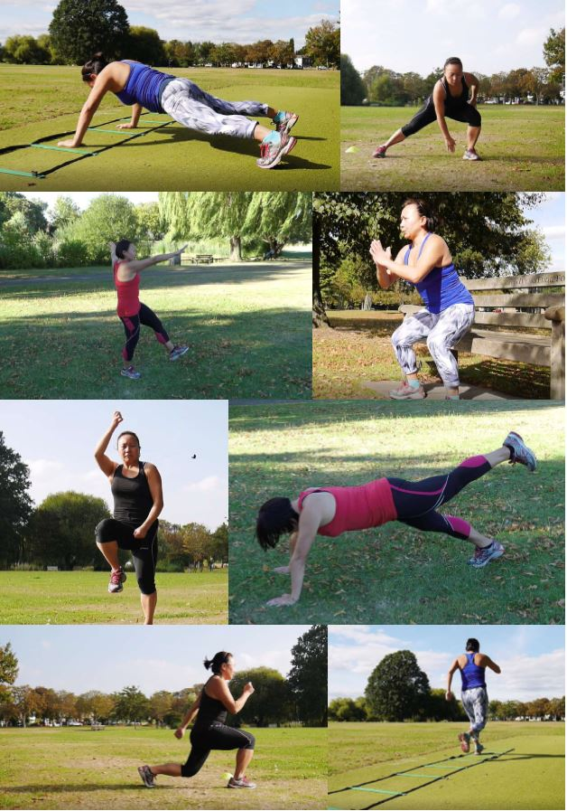 Some of the exercises you may learn