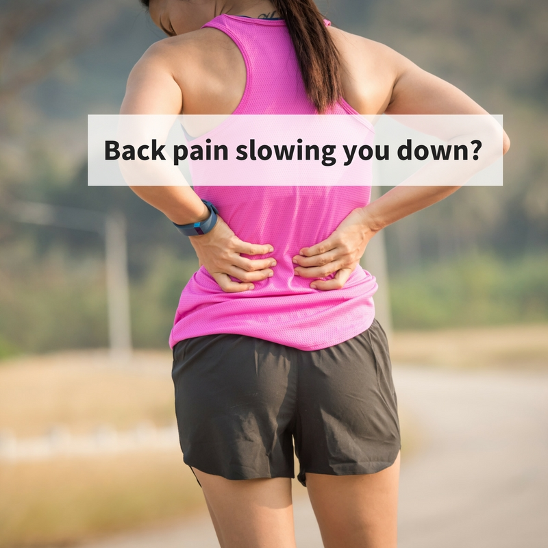 runner back pain